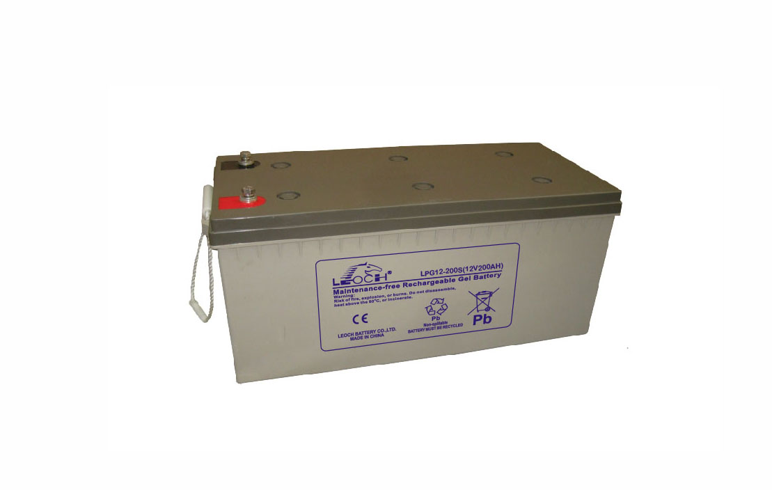 12v 200ah Leoch Deep Cycle Battery Cool Solar Private